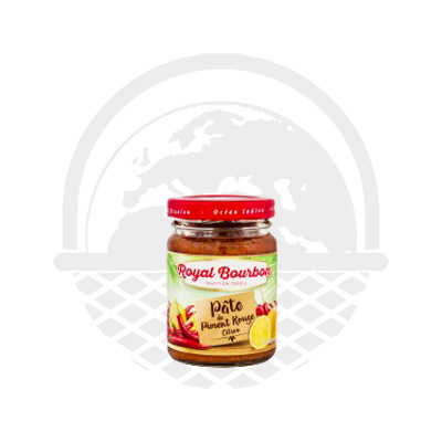 Pâte de piment rouge citron Royal Bourbon 90G