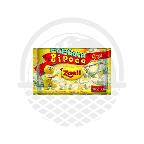 Pop corn au fromage Zaeli 100g