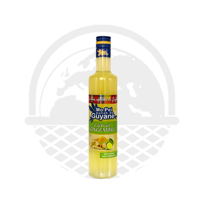 Punch gingembre et citron Mon pei punch de Guyane 50cl