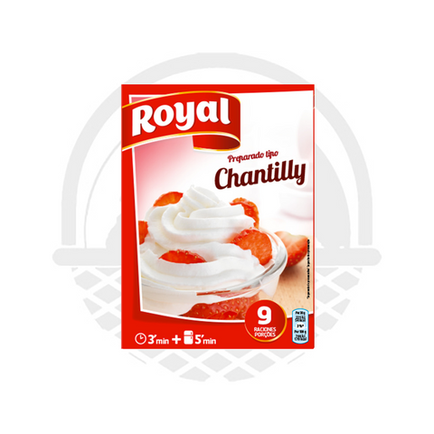 Préparation Chantilly Royal 72g