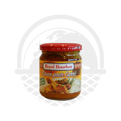 Sauce Carri Royal Bourbon 200g