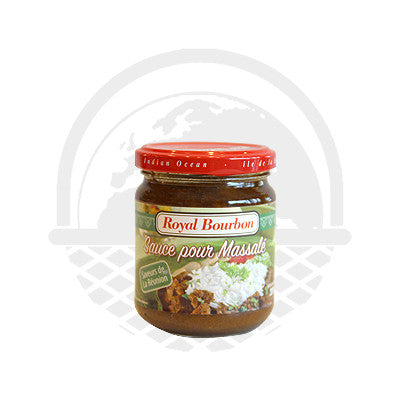 Sauce pour Massalé Royal Bourbon 200g