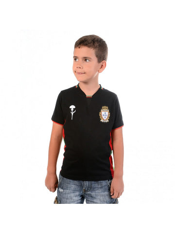T SHIRT ADEPTOS NOIR ENFANT TAILLE 8 ANS CR7 BY VIP