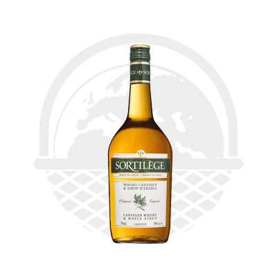 Whisky Sortilège à l'érable Canadien 75cl 30%