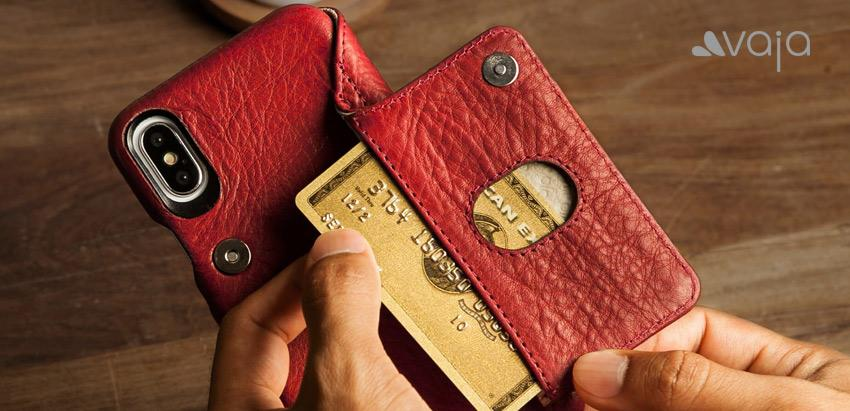 Unique, Stylish, Beautiful Leather iPhone X Cases and Wallets