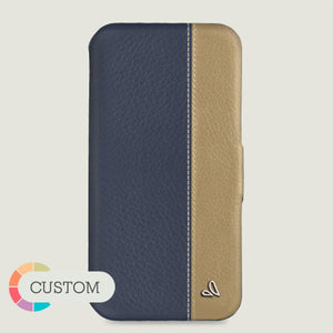 Customizable Folio LP iPhone 11 Pro leather case - Vajacases