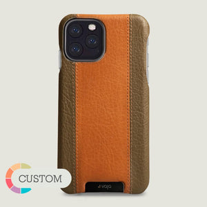 Custom GT GRIP iPhone 11 Pro leather case - Vaja