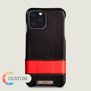 Custom Sailor Grip iPhone 11 Pro leather case - Vaja