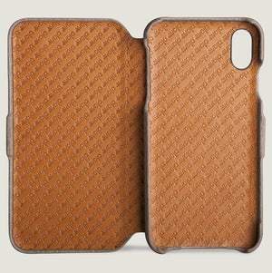 PREORDER + Folio - iPhone Xs Max Leather Case + Ships in 4 weeks .! - Vajacases
