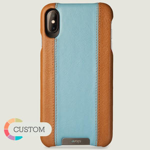 Custom Grip GT iPhone Xs Max Leather Cases - Ships in 5 weeks ! - Vajacases