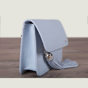 Alma Leather Clutch
