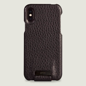 Top Amy iPhone X / iPhone Xs Leather Case - Vajacases