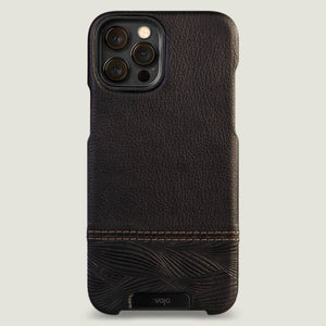 Grip Duo iPhone 12 pro Max Leather Case - Vaja