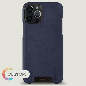Customizable Grip iPhone 12 Pro Max leather case