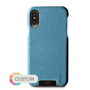Custom Grip iPhone X / iPhone Xs Leather Case - Vajacases