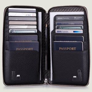 Bravo Leather Passport Holder