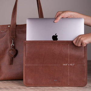 Mora Tote Leather Bag