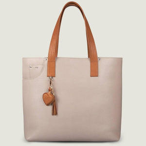 PREMIUM LEATHER TOTE HANDBAG - Vaja