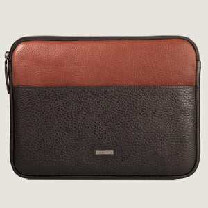"Zippered iPad Pro 12.9"" Leather Pouch"