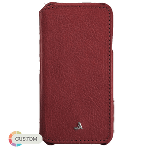Customizable Agenda - Premium iPhone 6 Plus/6s Plus Leather Case - Vajacases