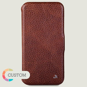 Custom Folio iPhone Xs Max Leather Case - Ships in 5 weeks ! - Vajacases