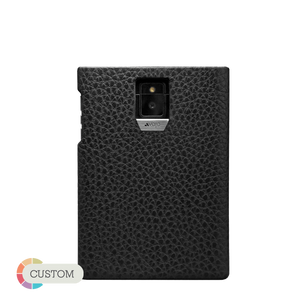 Customizable Grip - Premium Blackberry Passport Leather Case - Vajacases