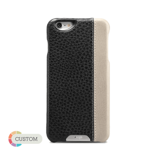 Customizable Grip LP - Premium iPhone 6/6s Leather Case - Vajacases