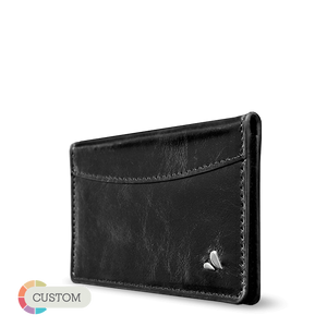 Customizable ID & Cards Holder - Carry your ID and credit cards in premium leather - Vajacases