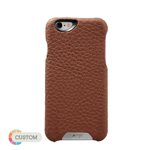 Customizable Grip - Premium iPhone 6/6s Leather Case - Vajacases
