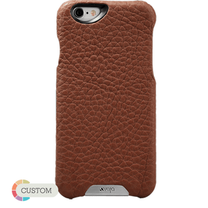 Customizable Grip - Premium iPhone 6 Plus/6s Plus Leather Case - Vajacases