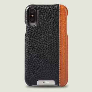 Grip LP iPhone X / iPhone Xs leather case - Vajacases