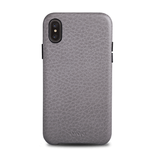 Slim Grip iPhone X / iPhone Xs Leather Case - Vajacases
