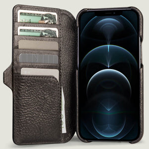 iPhone 12 Pro Max wallet leather case