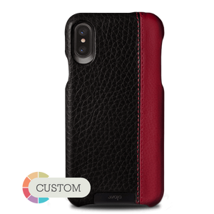 Customizable Grip LP iPhone X / iPhone Xs Leather Case - Vajacases