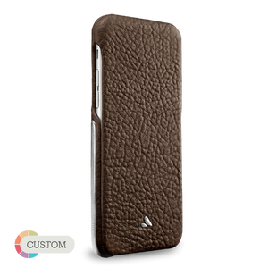 Customizable Top Silver Montana - Luxury iPhone 6/6s Leather Cases - Vajacases