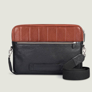 "13"" Laptop Leather Bag - Vajacases"
