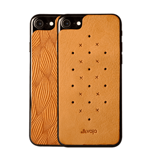 Leather Back for iPhone 7 - Vajacases