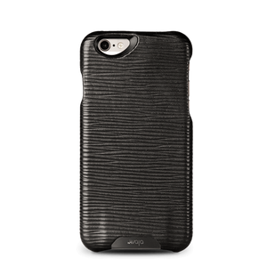 Grip Legno Nero - Black Label iPhone 6/6s Premium Leather Case - Vajacases