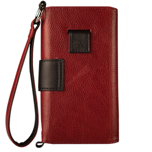 Lola XO - iPhone 7 Plus Wallet leather wristlet case - Vajacases
