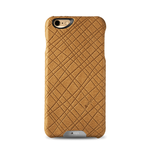 iPhone 6/6s - Embossed Leather Grip Case - Vajacases