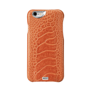 iPhone 6 Plus/6s Plus - Grip Struzzo Leather Case - Vajacases
