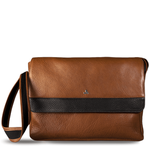 "Messenger Leather Bag for Macbook 13"" - Vajacases"