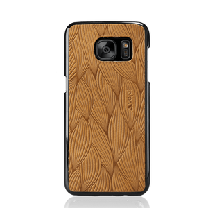 Embossed Leather Shell for Samsung Galaxy S7 Edge - Vajacases