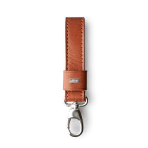 Premium Leather Loop Key Ring - Vajacases