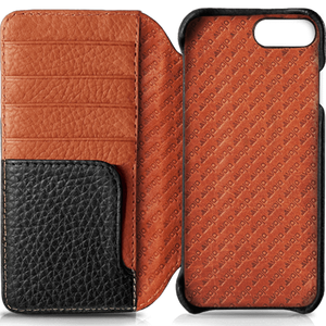 Wallet LP iPhone 8 Plus Wallet leather case - Vajacases