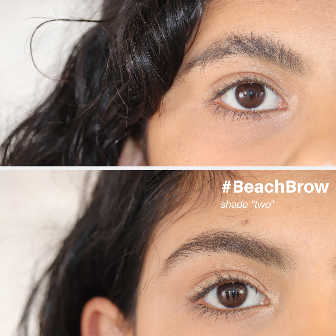 #BeachBrow -  brow mousse that fills, fluffs & sets
