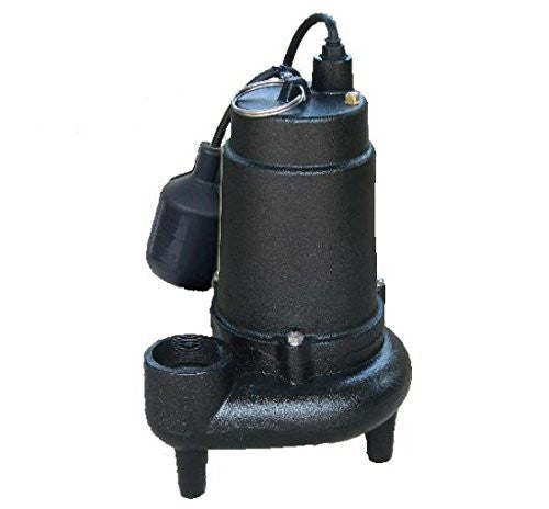 Jackel 3/4 HP Cast Iron Sewage Pump
