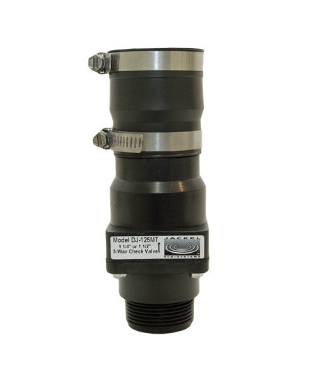 Jackel Sump Pump Check Valve (Model: DJ-125MT)