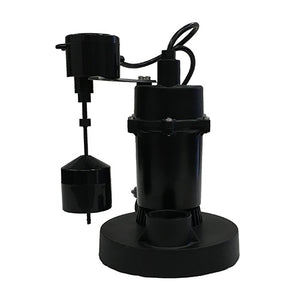 JACKEL 1/4 HP Submersible Sump Pump (Model: JP225V)