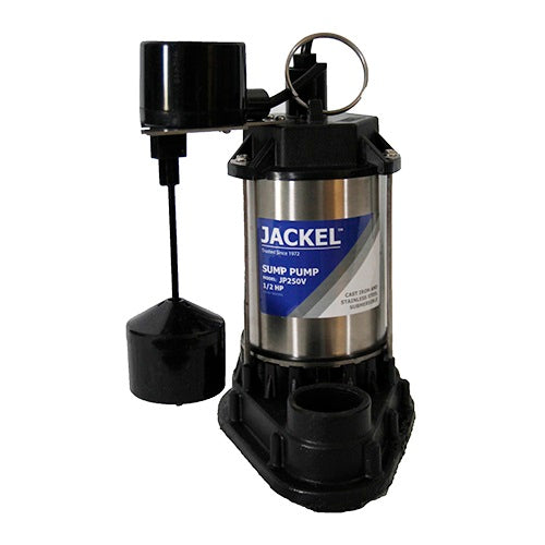 JACKEL 1/2 HP Submersible Sump Pump (Model: JP250V)